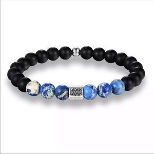 Jewelry - Astrology Beaded Bracelet - All 12 Signs Available
